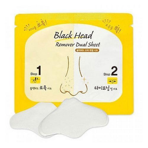 Маска Etude House Black Head Remover Dual Sheet (3 мл * 2 гр) etude house collagen moistfull mask sheet 5sheets korean beauty [imported]
