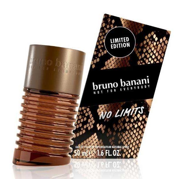 Туалетная вода Bruno Banani No Limits Man  50 мл туалетная вода для мужчин bruno banani pure man 30 мл
