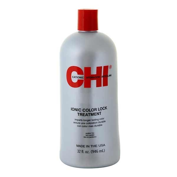 Кондиционер CHI Ionic Color Lock Treatment 946 мл фен elchim 3900 healthy ionic red 03073 07