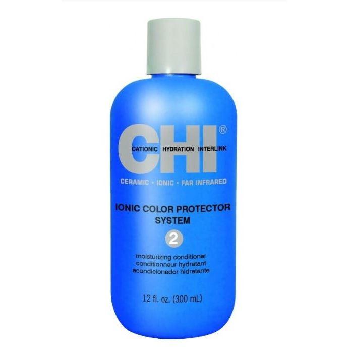 Кондиционер CHI Ionic Color Protector System 2 Moisturizing Conditioner фен elchim 3900 healthy ionic red 03073 07