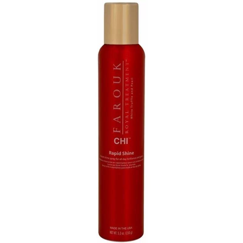 Спрей CHI Rapid Shine Spray 150 мл мицелий грибов шампиньон королевский субстрат объем 60 мл