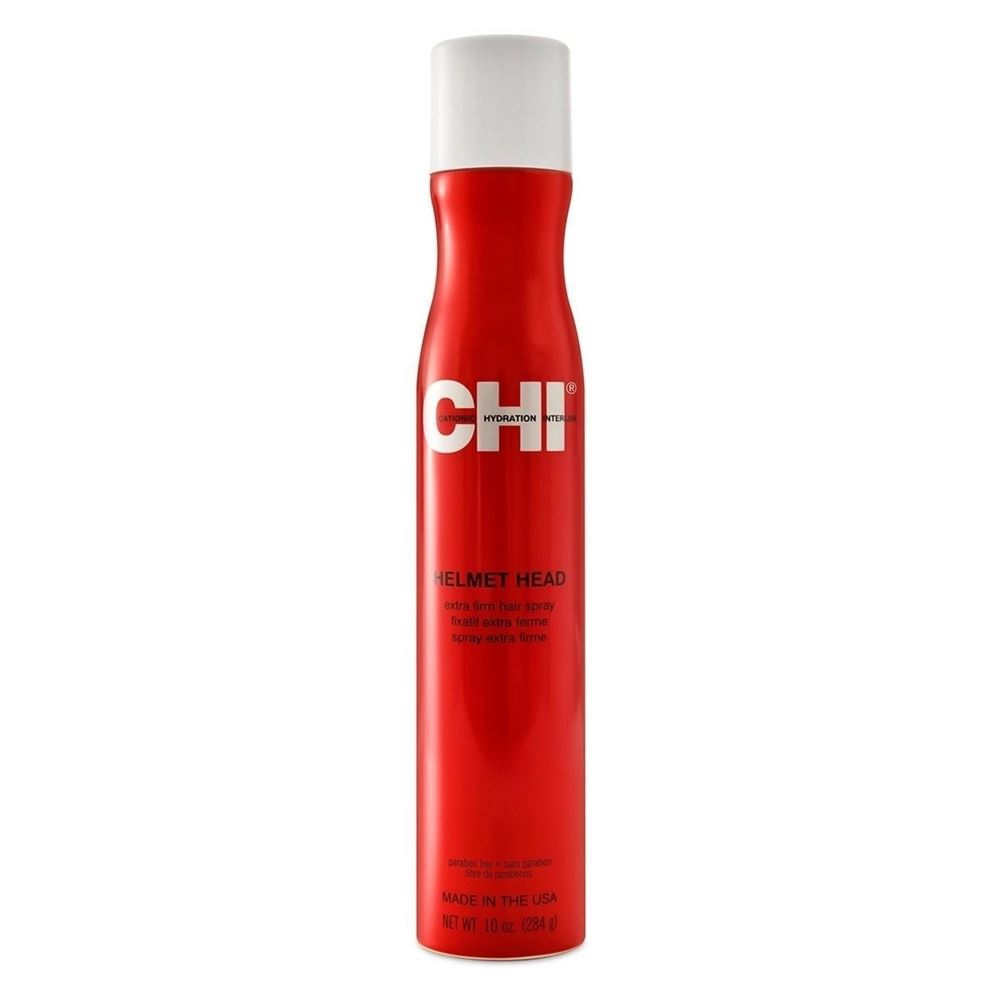 Лак CHI Helmet Head Extra Firm Hair Spray (284 г) лак chi style illuminate work your style flexible hair spray 340 г
