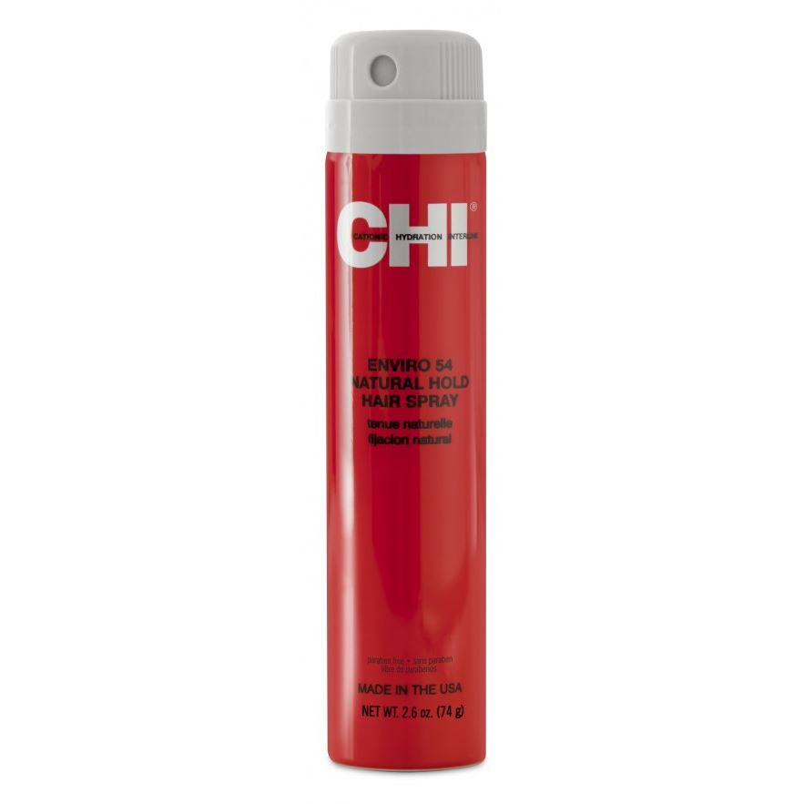 Лак CHI Enviro 54 Natural Hold Hair Spray (74 г) лак chi style illuminate work your style flexible hair spray 340 г