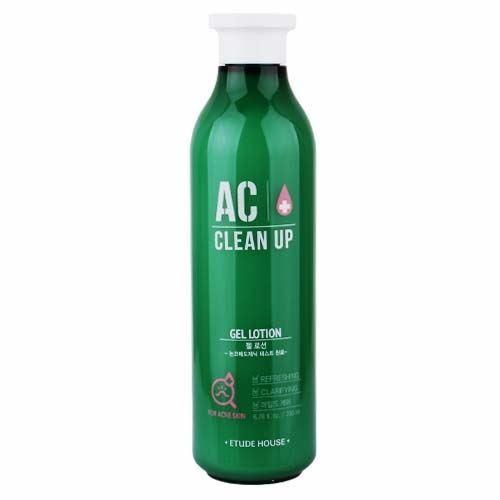 Гель Etude House AC Clean Up Gel Lotion 200 мл reneve нежный лосьон для сухой и чувствительной кожи reneve clean lotion douce r36vv 200 мл