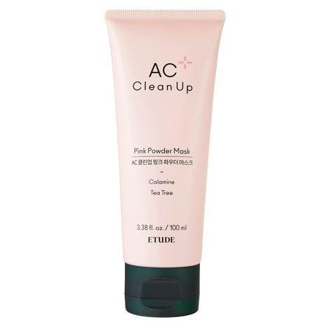 Маска Etude House AC Clean Up Pink Powder Mask  100 мл патч очищающий для носа 0 65 мл etude house