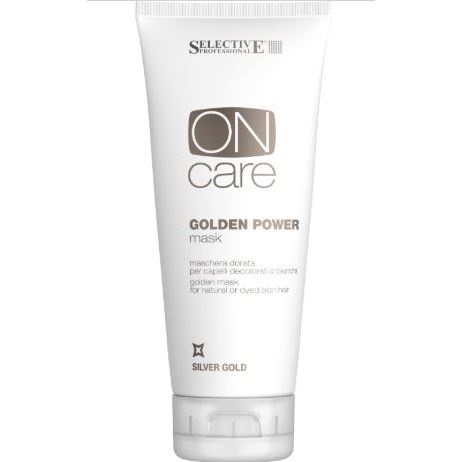 Маска Selective Professional Golden Power Mask набор selective professional golden power shampoo