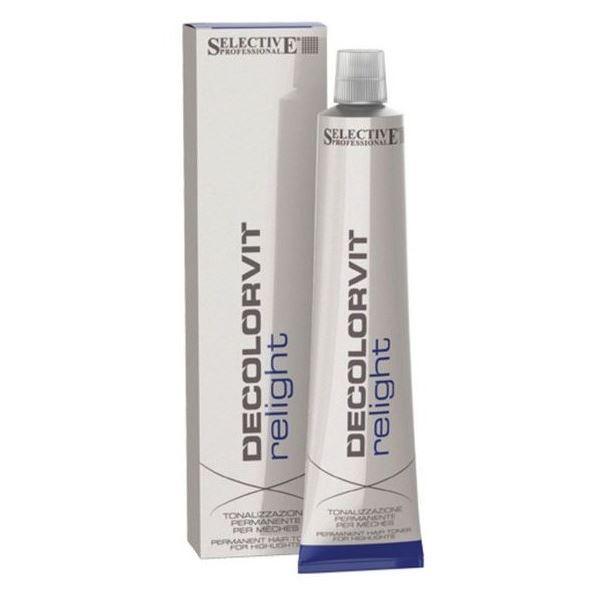 Краска для волос Selective Professional Decolorvit Relight (бежевый) краска для волос selective professional mild direct colour