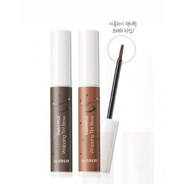 Краска для волос The Saem Saemmul Wrapping Tint Brow (BR01 ) тональный крем the saem saemmul cover foundation 01
