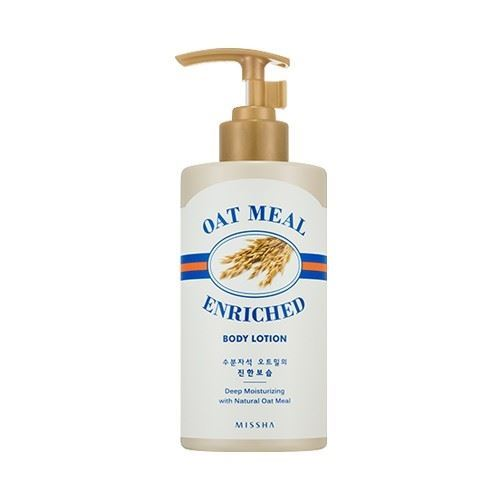 Missha Oat Meal Enriched Body Lotion