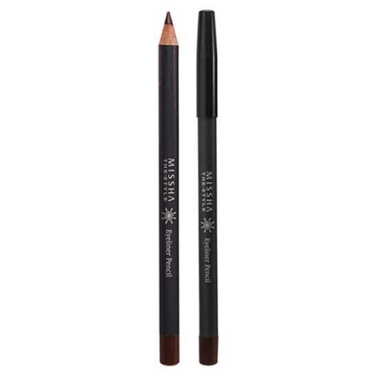 Подводка Missha The Style Eyeliner Pencil (Black) missha m super extreme powerproof eyeliner black