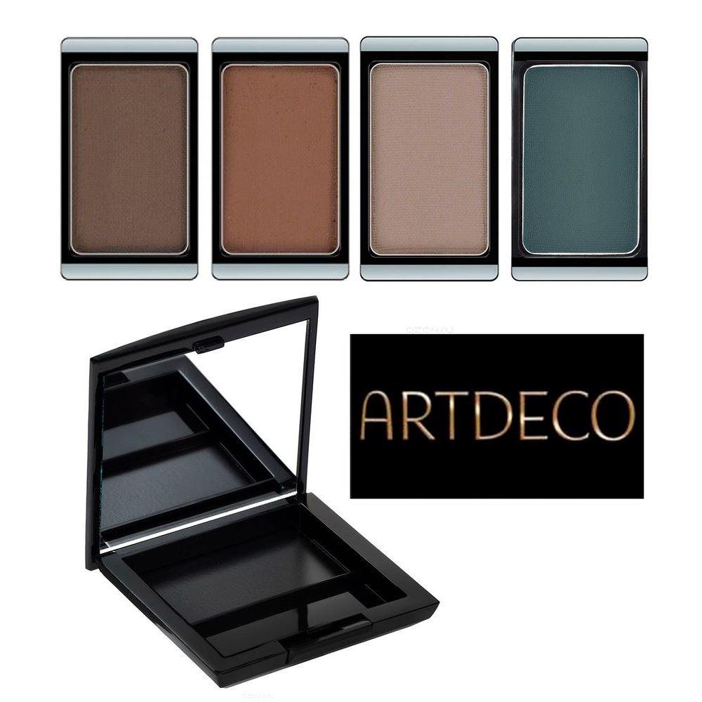 Тени для век ARTDECO Eyeshadow Matt (587 Коллекция Осень-Зима 15-16) catrice тени для век the modern matt collection eyeshadow palette 010 матовые 83 г