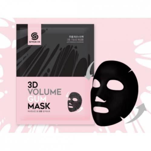 Маска Berrisom G9 3D Volume Gum Mask 23 мл max factor тушь 2000 calorie dramatic volume 9 мл 3 цвета тушь 2000 calorie curved brush volume 9 мл 3 цвета 9 мл navy