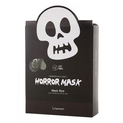 Маска Berrisom Horror Mask Series - Skull 25 мл berrisom horror mask scull black rice объем 25 мл