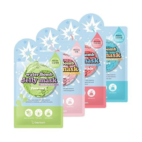 Маска Berrisom Water Bomb Jelly Mask (Whitening) маска elizavecca 3 step aqua white water mask pack
