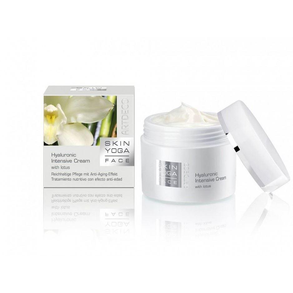 Крем ARTDECO Hyaluronic Intenstive Cream with lotus hyaluronic универсальный крем для лица с гиалуроной кислотой
