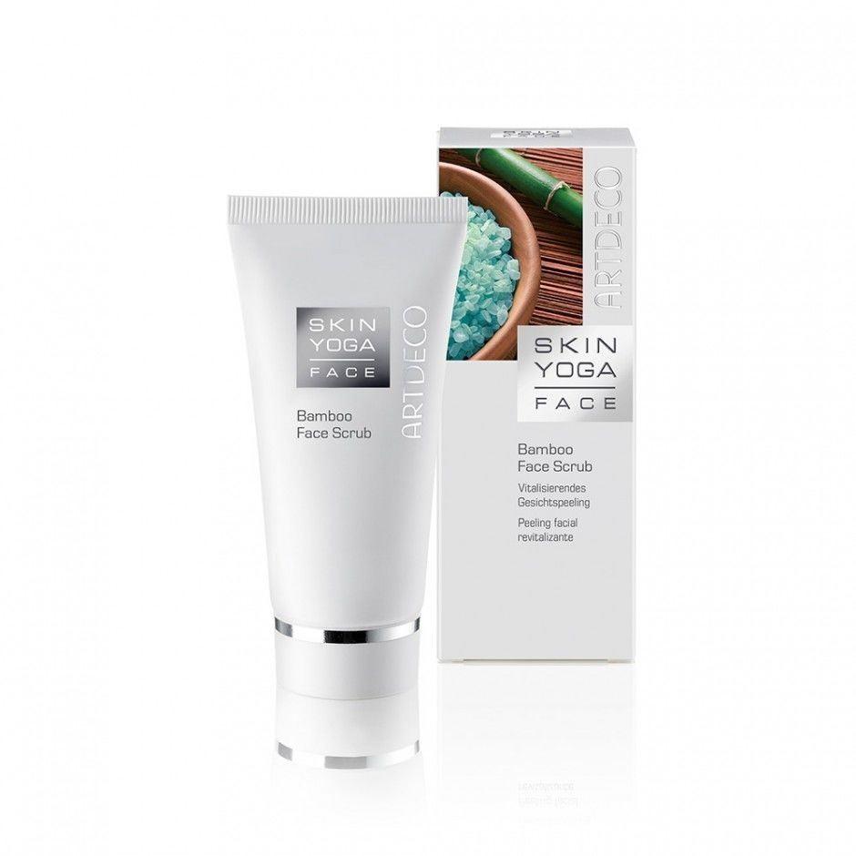 Пилинг ARTDECO Bamboo Face Scrub пилинг для лица для всех типов кожи