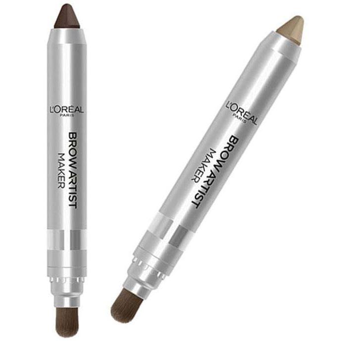 Карандаши L'Oreal Brow Artist Maker (02) карандаш для бровей l oreal paris brow artist maker 02 dark brunette цвет 02 dark brunette variant hex name 433a3b