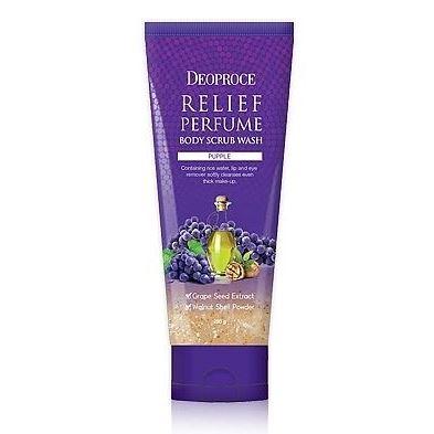 Скраб Deoproce Relief Perfume Body Scrubwash Purple 200 мл скраб ahava минеральный скраб для тела 200 мл
