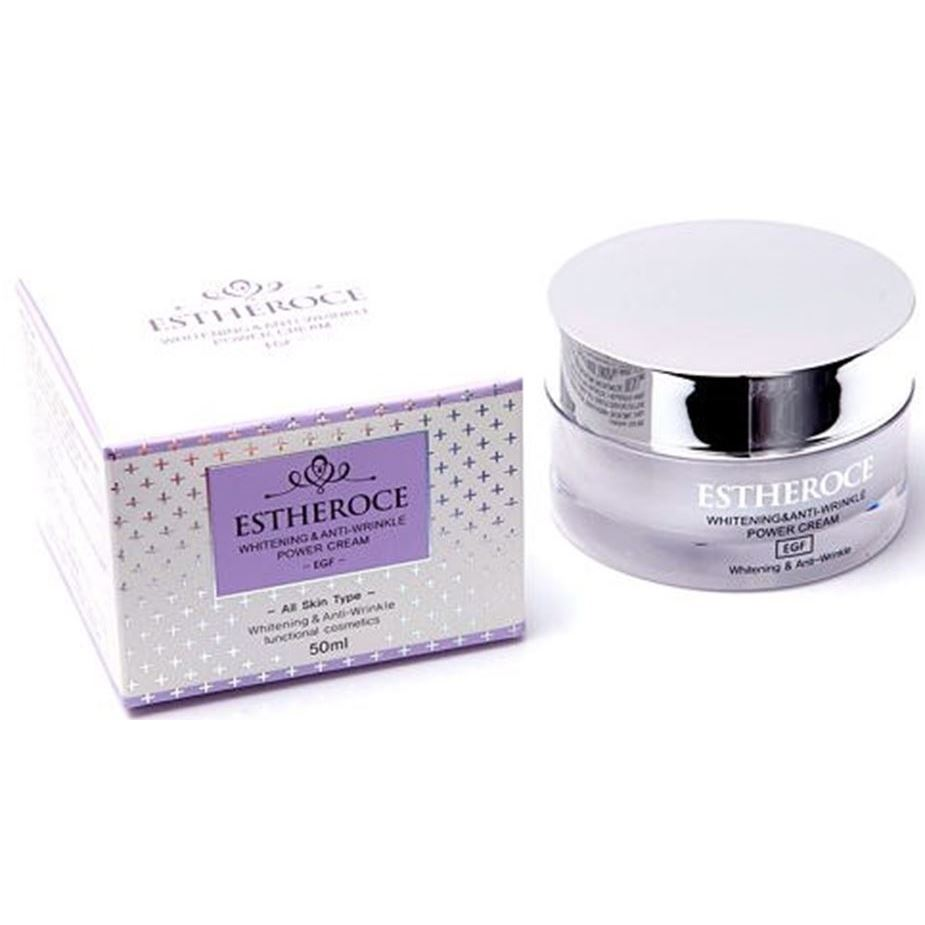 Крем Deoproce Whitening & Anti-Wrinkle Power Cream 50 мл original korea cosmetic prestige jeju snail cream 30ml anti wrinkle whitening