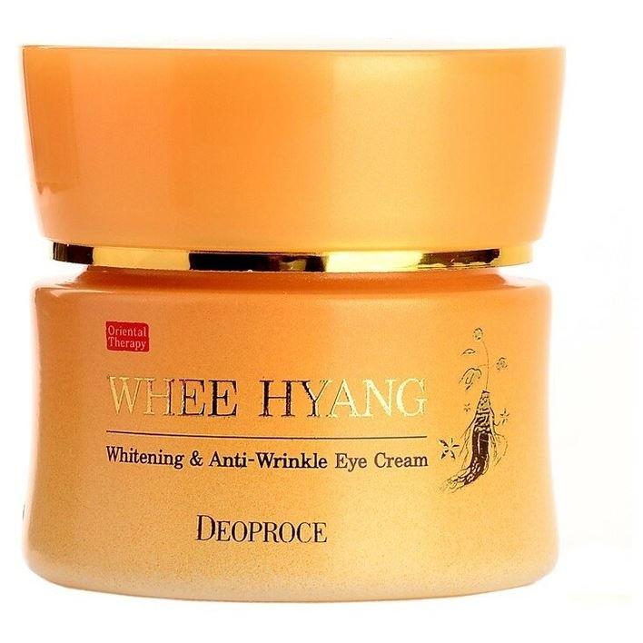 Крем Deoproce Whee Hyang Anti-Wrinkle Eye Cream 30 мл reneve омолаживающий крем для зоны глаз reneve yeux anti wrinkle cream for eye contour area r58vv 30 мл