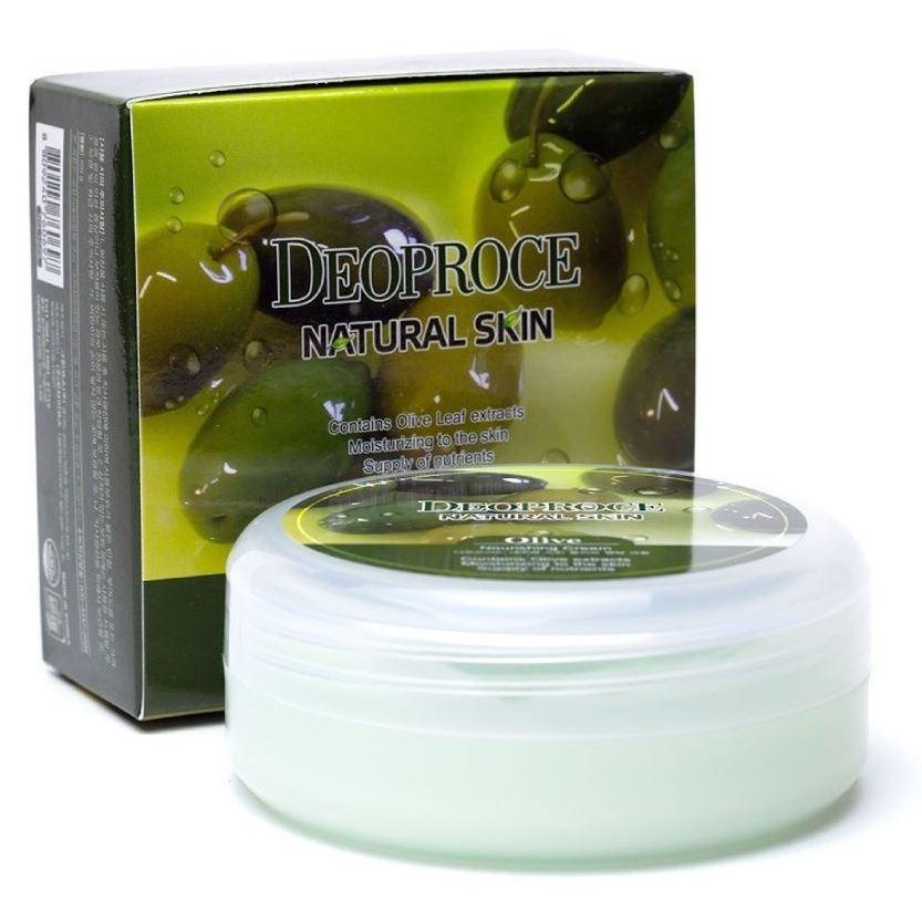 Крем Deoproce Olive Nourishing Cream 100 мл крем deoproce cucumber nourishing cream