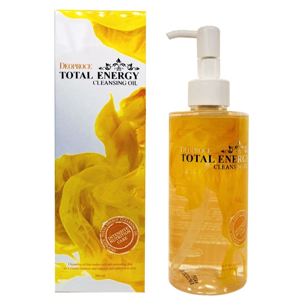 Масло Deoproce Cleansing Oil Total Energy оливковое масло для кожи