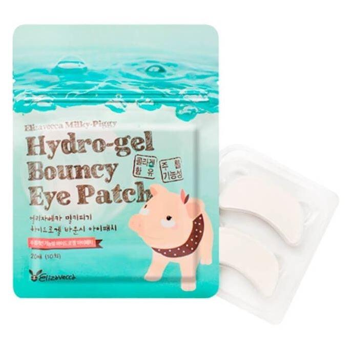 цена на Маска Elizavecca Hydro-gel Bouncy Eye Patch (20 шт)