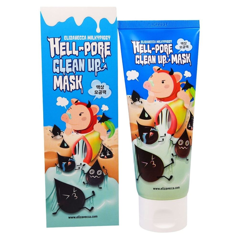 цена на Маска Elizavecca Hell-Pore Clean Up Mask 100 мл