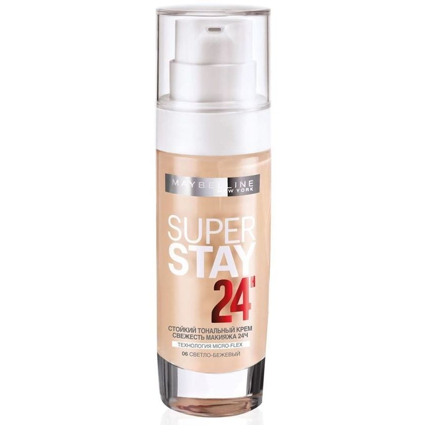 Тональный крем Maybelline Superstay 24Н Longwear Foundation (07) вихрь асв 800 24н
