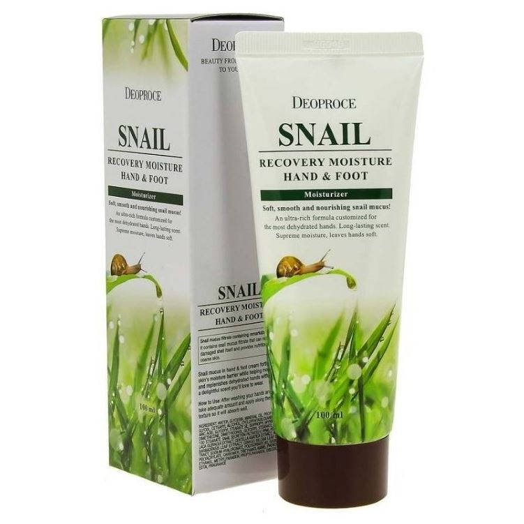 Крем Deoproce Snail Recovery Moisture Hand & Foot