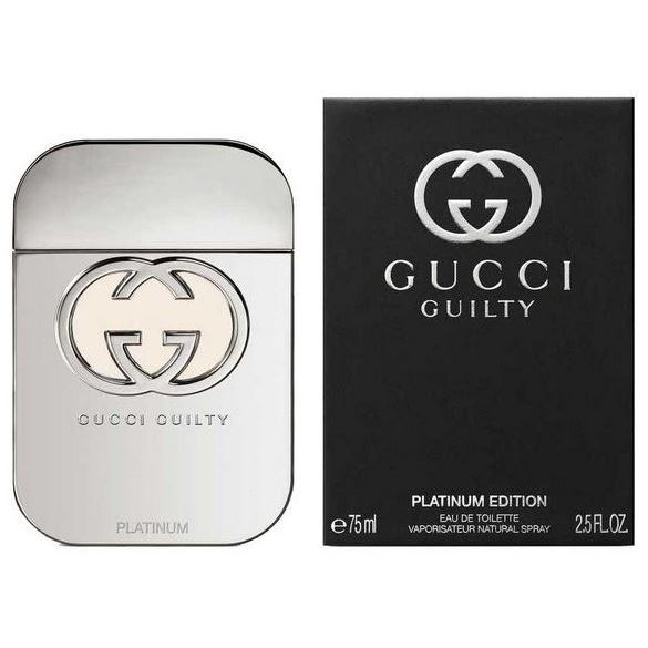 Туалетная вода Gucci Guilty Platinum Editions  50 мл платье marciano guess 74g827 5358z a996