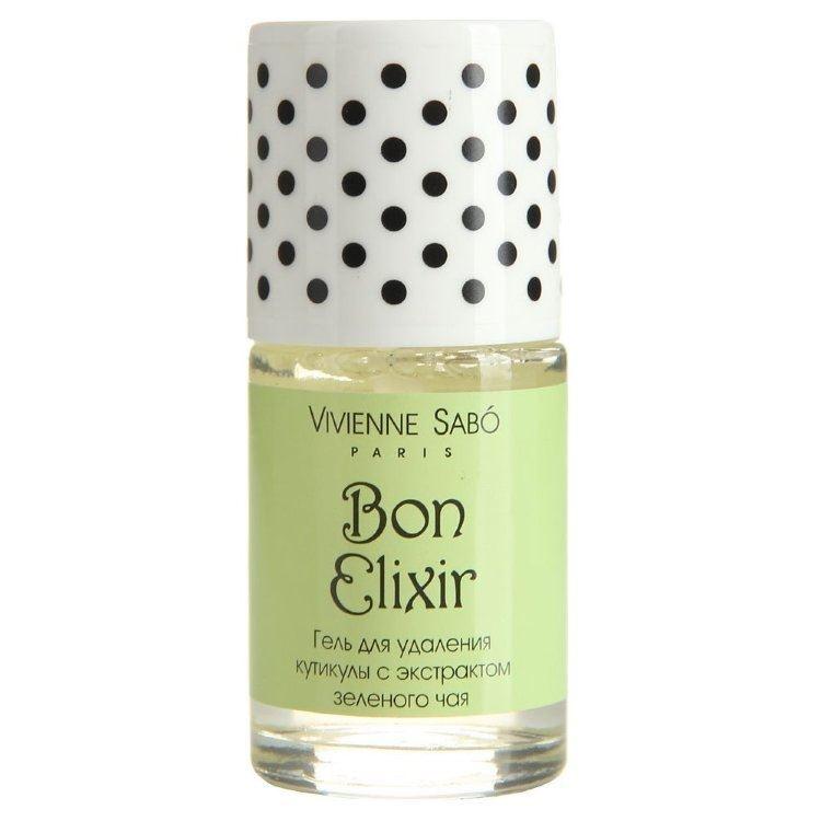 Гель Vivienne Sabo Сuticle Remover Gel Bon Elixir 15 мл vivienne sabo прозрачный фиксирующий гель для бровей и ресниц 6 мл