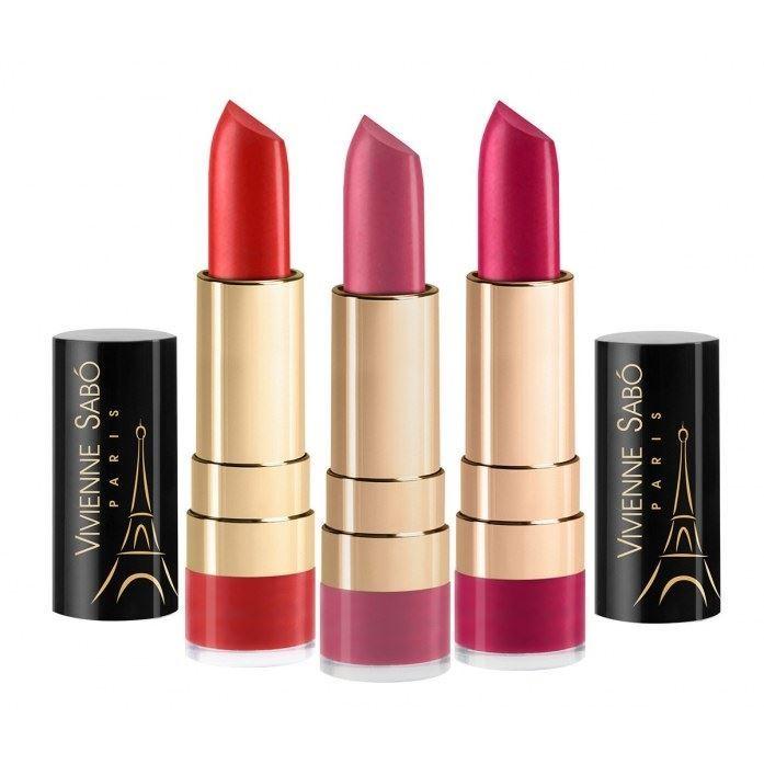 Помада Vivienne Sabo Lipstick Rouge Charmant (тон 727) sleek makeup губная помада lip v i p lipstick 3 6 гр 9 оттенков губная помада lip v i p lipstick 3 6 гр attitude тон 1012 3 6 гр