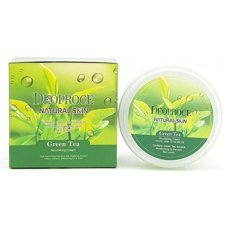 Крем Deoproce Green Tea Nourishing Cream 100 мл лосьон deoproce silkvill nourishing care face