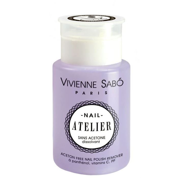 Жидкость Vivienne Sabo Acetone free Nail Polish Remover Nai Atelier in garden жидкость nail polish remover 100 мл