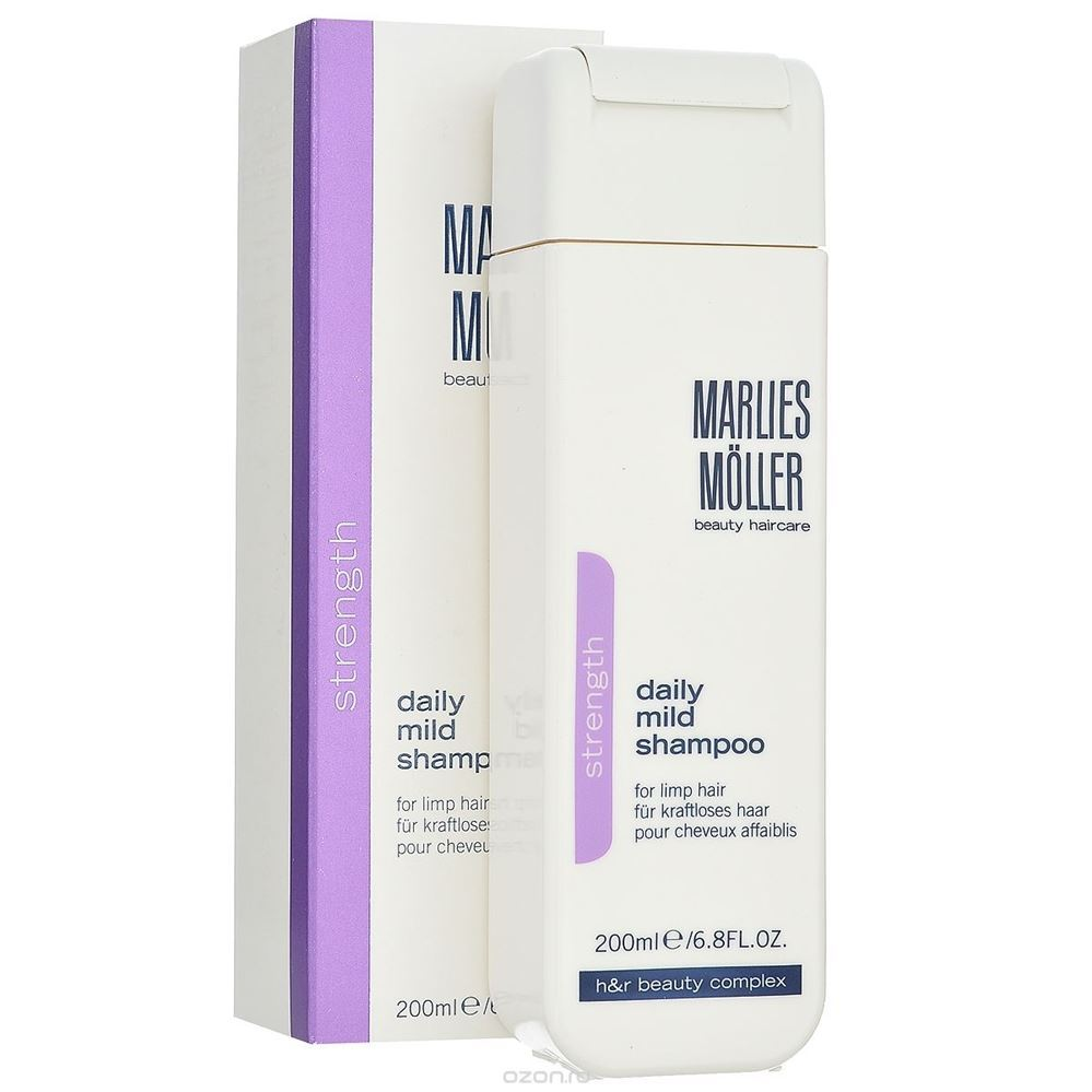 Шампунь Marlies Moller Strength Daily Mild Shampoo 200 мл шампунь keen daily care shampoo