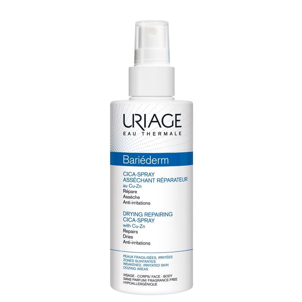 Спрей Uriage Bariederm Drying Repairing Cica-Spray With Cu-Zn недорого