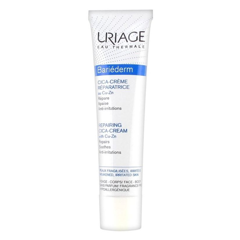 Крем Uriage Bariederm Repairing Cica-Cream With Cu-Zn 40 мл крем uriage isoliss cream