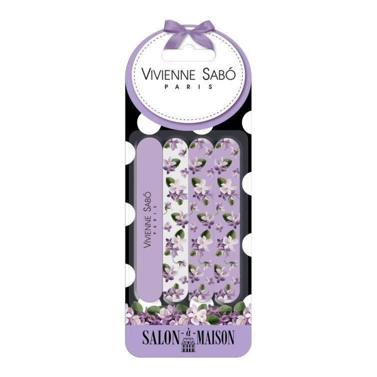 Набор Vivienne Sabo Nail File Set (Набор 4 шт) набор vivienne sabo velour makeup sponges set набор 2 шт