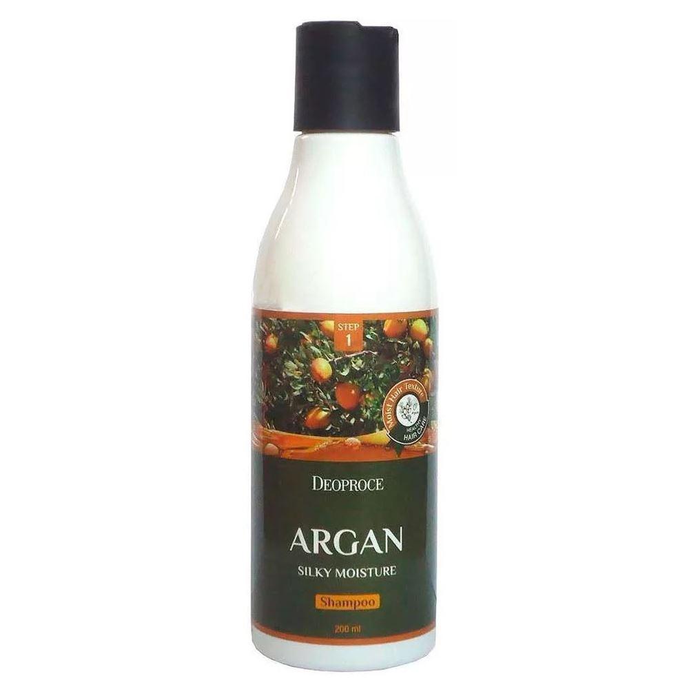 Шампунь Deoproce Argan Silky Moisture Shampoo шампунь хербал эсенсес купить в киеве