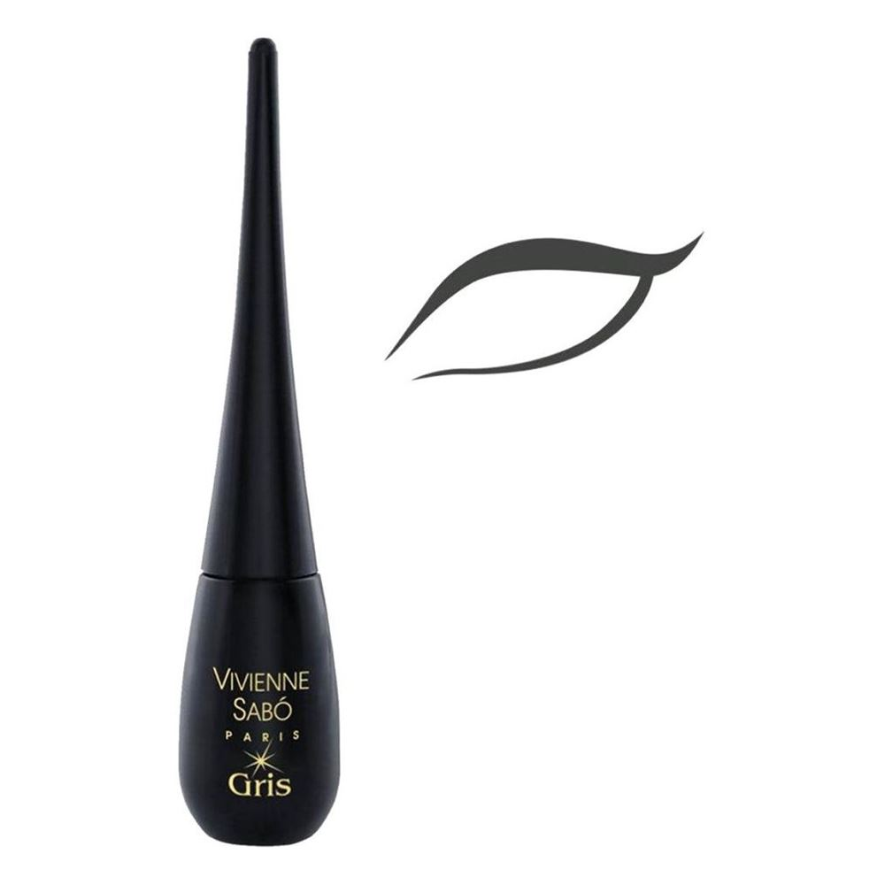 Подводка Vivienne Sabo Eyeliner Liquid Chocolat&Gris (тон 03 шоколад) free shipping 3 pp eyeliner liquid empty pipe pointed thin liquid eyeliner colour makeup tools lfrosted purple