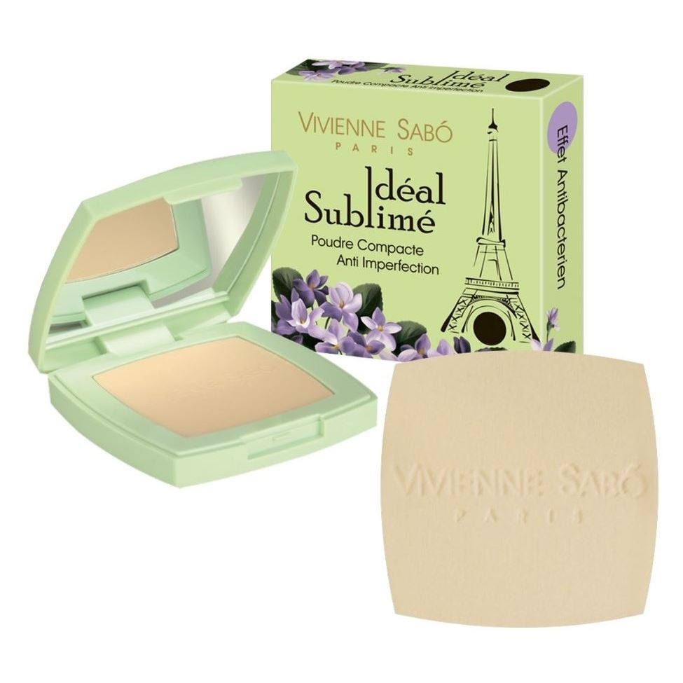 купить Пудра Vivienne Sabo Anti Imperfection Compact Powder Ideal Sublime (тон А3) в интернет-магазине