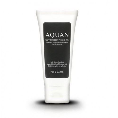 Гель Anskin Aquan Soft & Perfect Peeling Gel  (70 гр) the yeon lotus roots 365 silky skin bubble peeling gel пилинг гель с экстрактом лотоса 100 мл