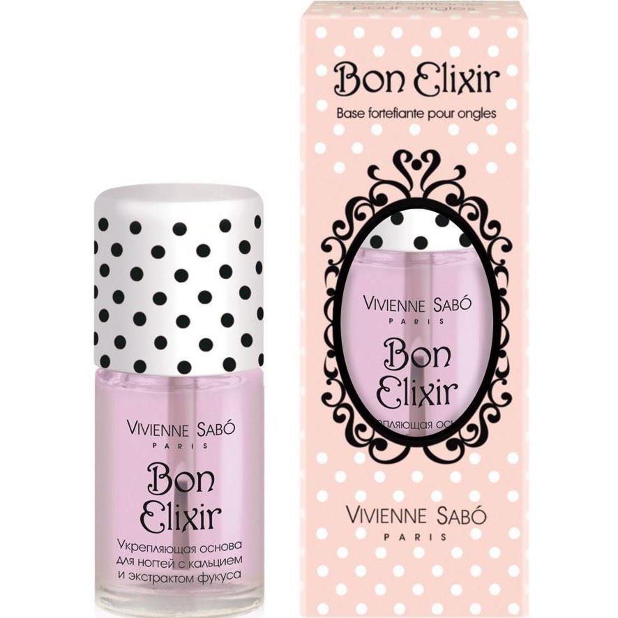 Жидкость Vivienne Sabo Nail Care Hardener Base Bon Elixir лаки для укрепления и роста ногтей alessandro средство для придания твердости ногтям с биотином biotin nail hardener