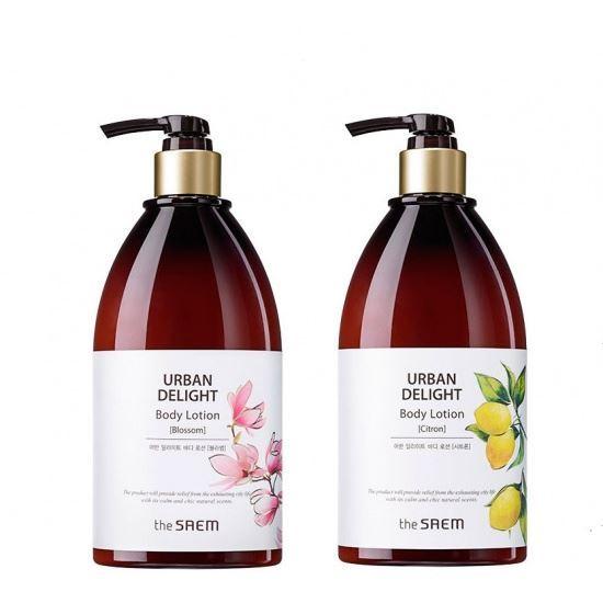 Лосьон The Saem Urban Delight Body Lotion  (Citron) лосьон the saem touch on body plum body lotion 300 мл