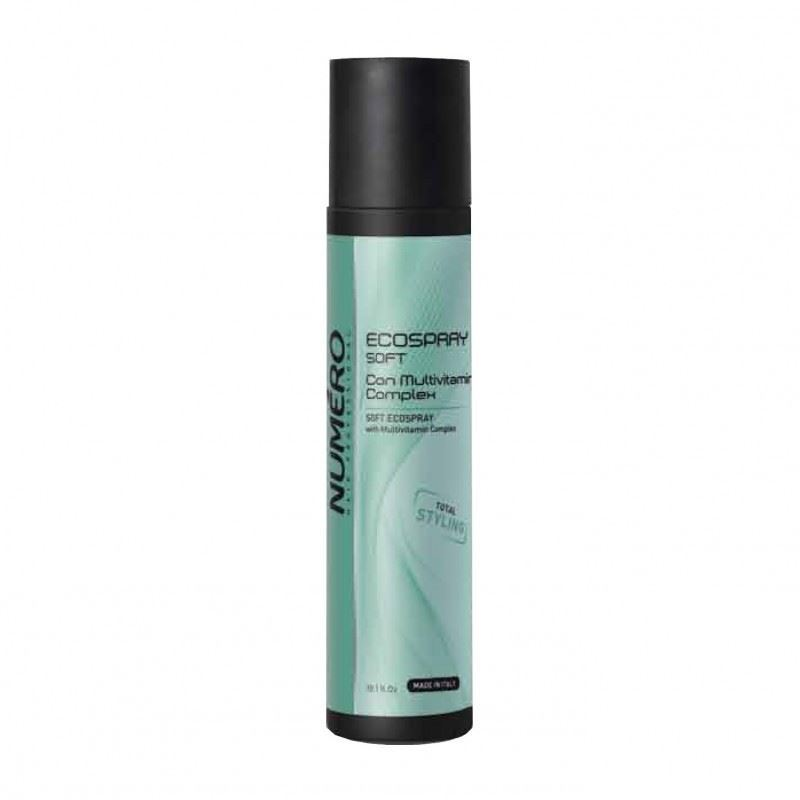 Лак Brelil Professional Numero Styling Ecospray Soft 300 мл крем brelil professional unike styling curly memory cream 200 мл