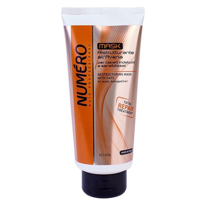 Маска Brelil Professional Restructuring Oat Mask 1000 мл brelil professional hair juice nutri mask