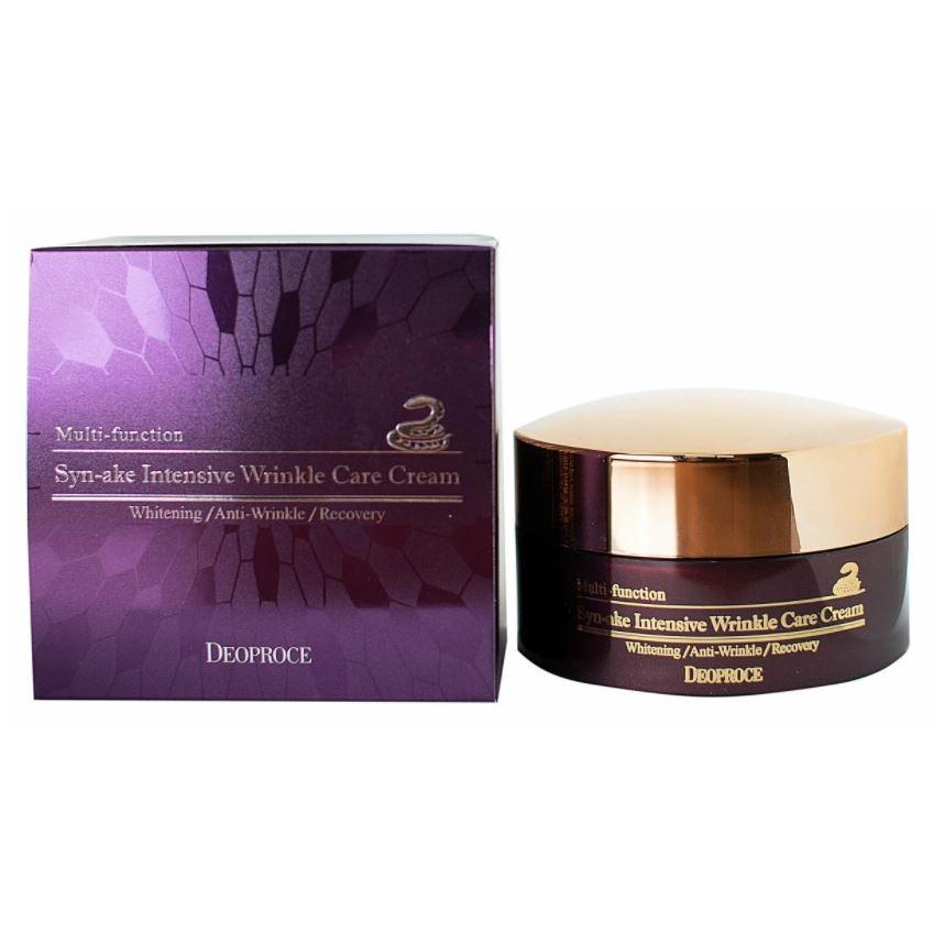 Крем Deoproce Syn-Ake Intensive Wrinkle Care Cream 100 мл лосьон deoproce silkvill nourishing care face