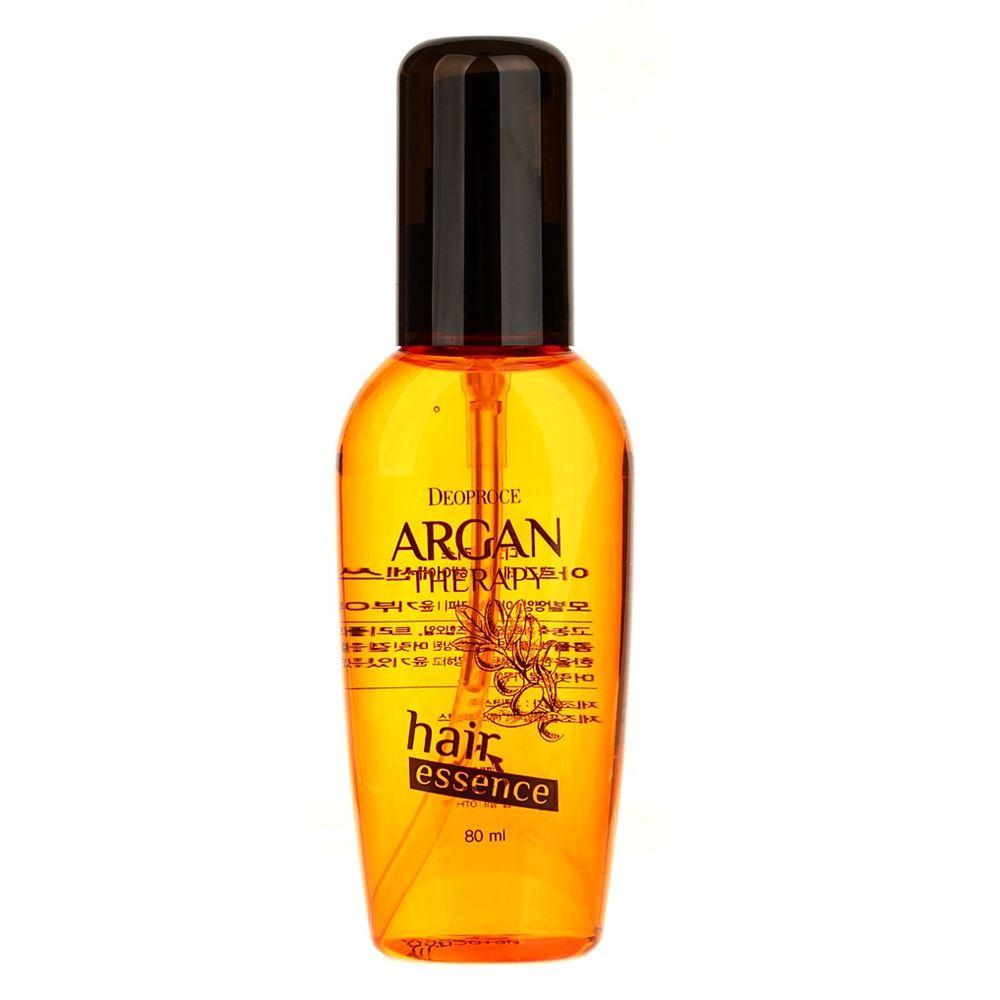 Сыворотка Deoproce Argan Therapy Hair Essence 80 мл the saem silk hair argan coating essence