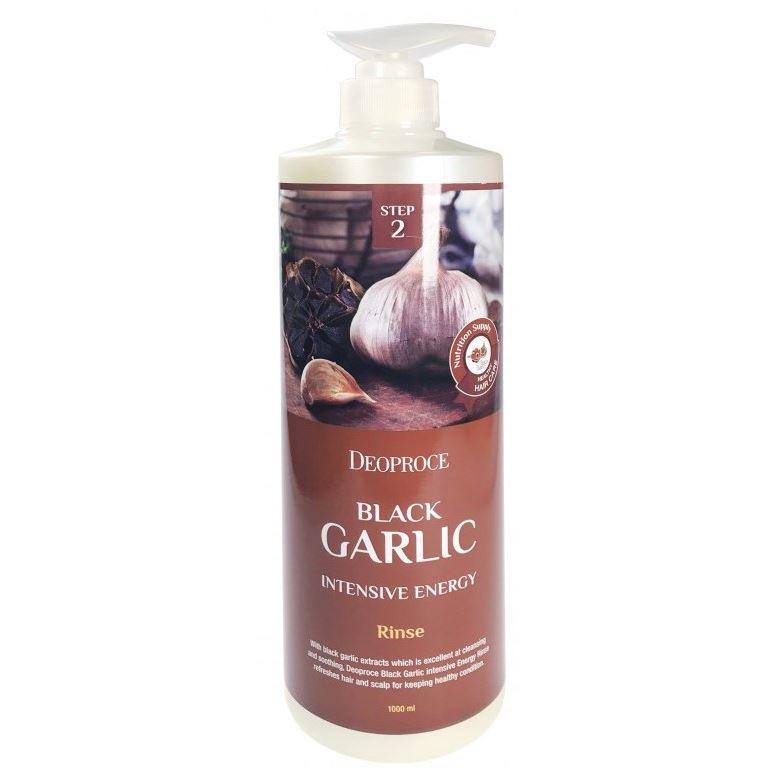 Бальзам Deoproce Black Garlic Intensme Energy Rinse 1000 мл deoproce